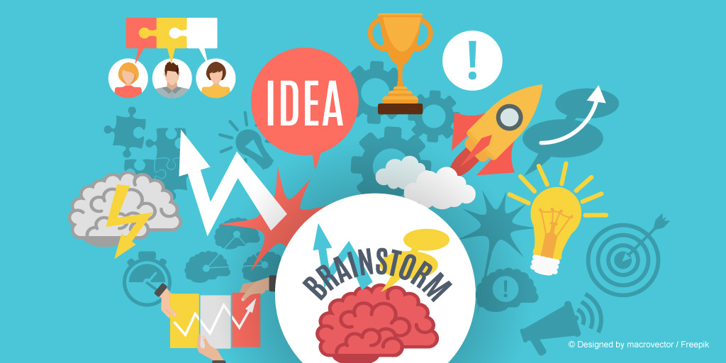 ´Mit Brainstorming zur Innovation