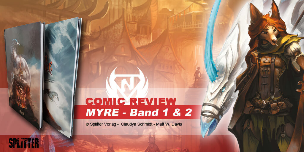 Comic Review: Myre – The Chronicles of Yria-Volume 1 & 2