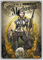 Cover: Lady Mechanika – Volume 1: The Mystery of the Mechanical Corpse