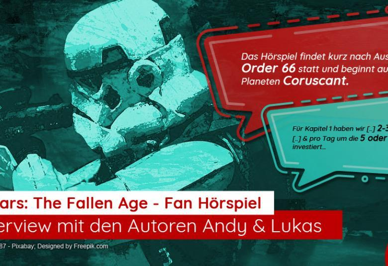 "Fan-Hörspiel ""Star Wars: The Fallen Age"": Empfehlung & Interview"